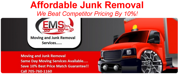 Junk Removal in Peterborough & the Kawarthas