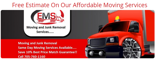 Peterborough Movers - Get a Free Estimate!